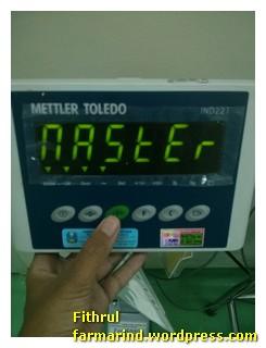 Setting Printer Timbangan Mettler Toledo IND221