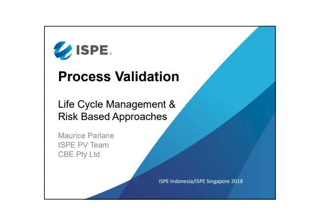ISPE validasi proses hybrid
