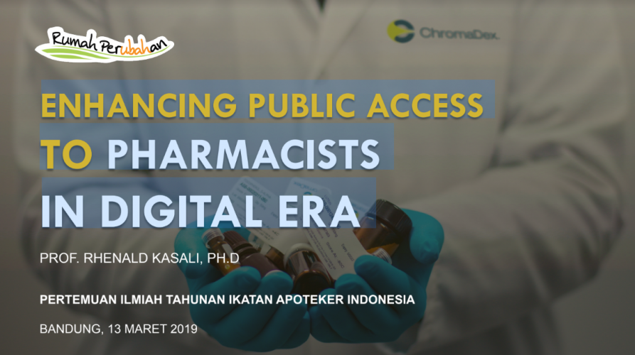 ENHANCING PUBLIC ACCESS TO PHARMACISTS IN DIGITAL ERA