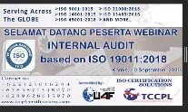 Berbagi Pengalaman Webinar Audit Internal Berdasarkan ISO 19011:2018