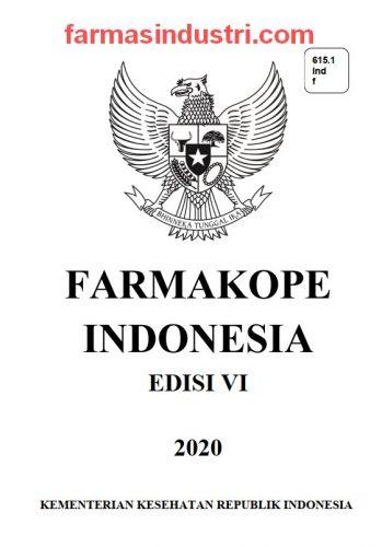 Download Farmakope Indonesia VI 2020 Terlengkap Terbaru